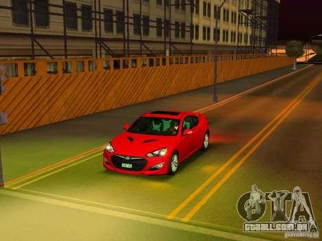 Hyundai Genesis Coupé 3.8 Track v 1.0 para GTA San Andreas