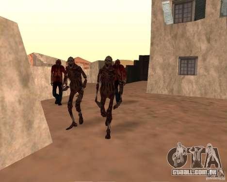 Zombie Half life 2 para GTA San Andreas terceira tela