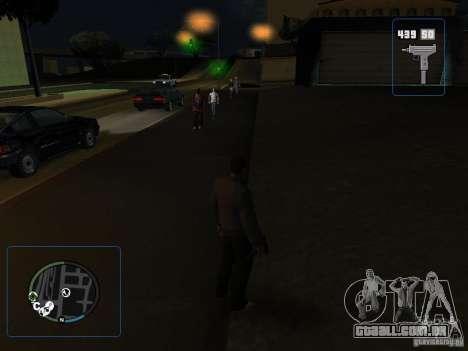 HUD e as armas de GTA IV para GTA San Andreas terceira tela