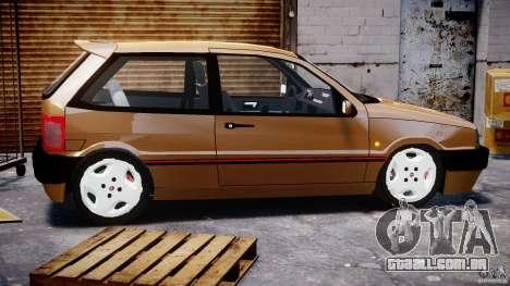 Fiat Tipo 1990 para GTA 4 esquerda vista