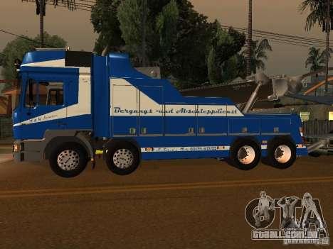 HOMEM F2000 (com roteiro de CLEO) para GTA San Andreas esquerda vista