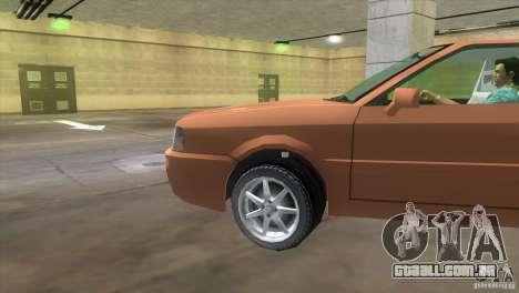 Audi S2 para GTA Vice City vista direita