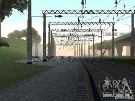 Rede de contactos para GTA San Andreas oitavo tela