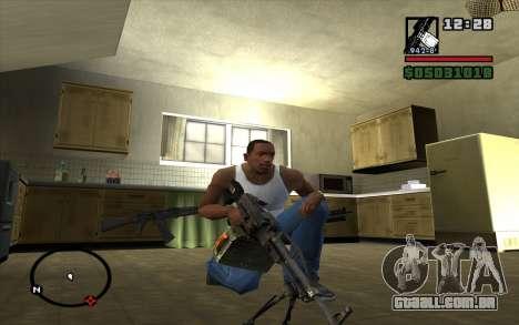 PKP Pecheneg metralhadora para GTA San Andreas segunda tela