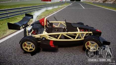 Ariel Atom 3 V8 2012 para GTA 4 vista lateral