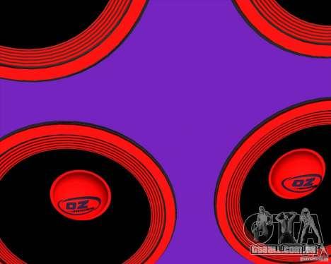 VAZ 2109 Drift para vista lateral GTA San Andreas