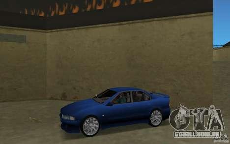 Mitsubishi Galant para GTA Vice City deixou vista