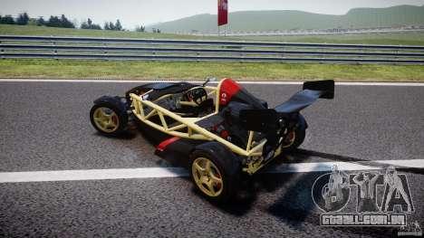Ariel Atom 3 V8 2012 para GTA 4 vista superior