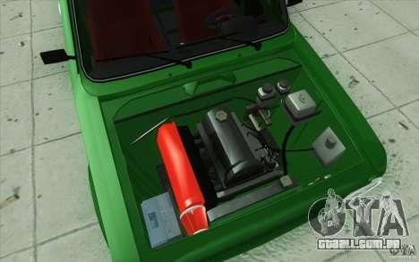 Esporte de Lada VAZ-2101 para GTA San Andreas vista inferior