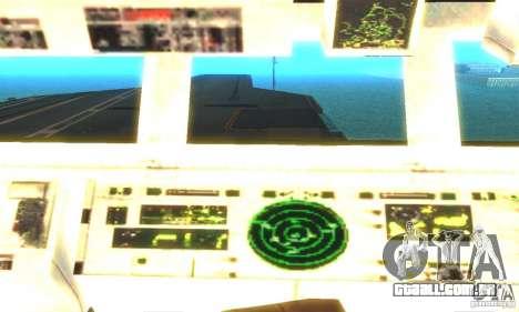 CVN-68 Nimitz para GTA San Andreas terceira tela