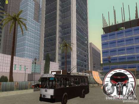 Trólebus LAZ-52522 para GTA San Andreas