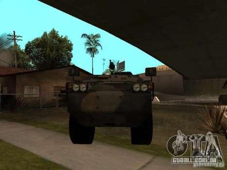 S. w. r. T de Counter Strike Source para GTA San Andreas esquerda vista