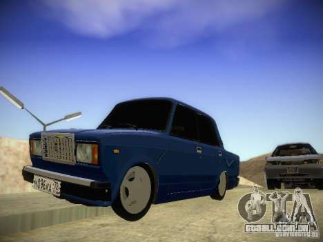 Vaz-2107 para GTA San Andreas