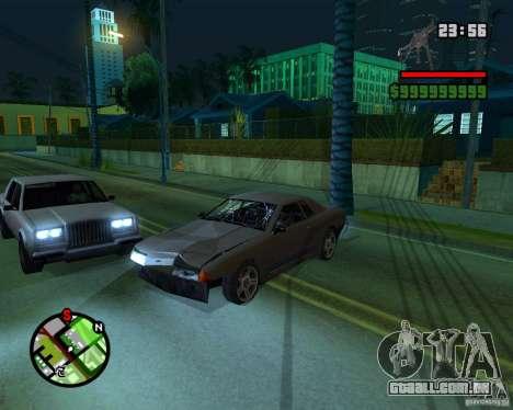 New Windows Crashes para GTA San Andreas segunda tela