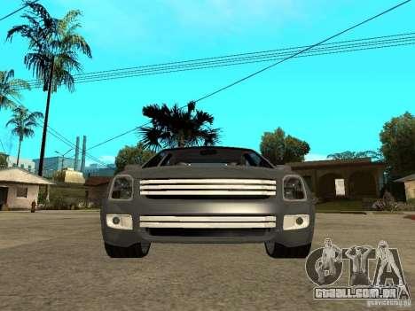 Ford Fusion 2008 Dub para GTA San Andreas vista direita