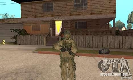Atirador de pele para GTA San Andreas sétima tela