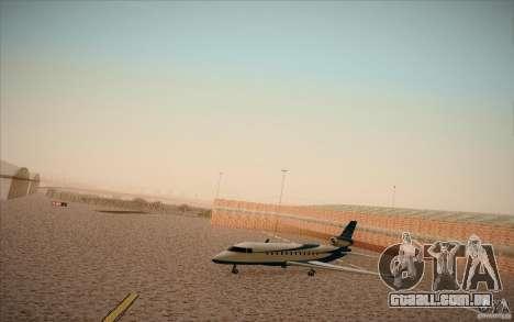 New San Fierro Airport v1.0 para GTA San Andreas terceira tela