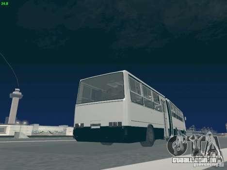 Trailer de Ikarus 280.03 para GTA San Andreas vista superior