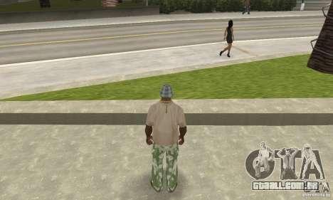 Calças de camuflagem para GTA San Andreas terceira tela