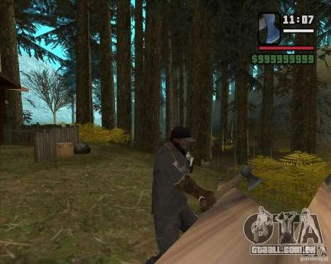 Caçador de casa v. 3.0 Final para GTA San Andreas quinto tela