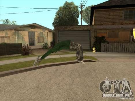 Parkour 40 mod para GTA San Andreas nono tela