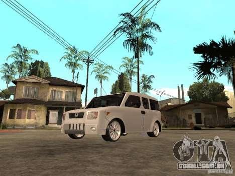 Honda Element para GTA San Andreas