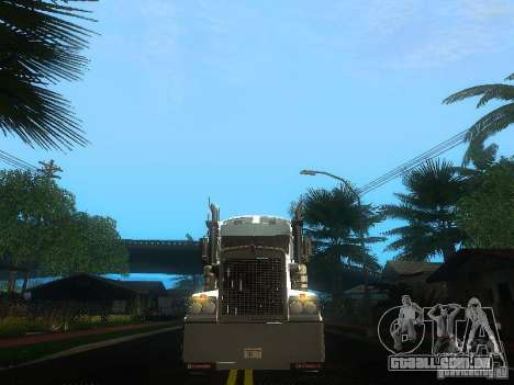 Kenworth T908 para GTA San Andreas vista superior