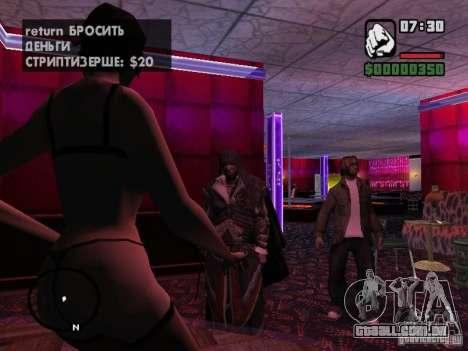 Ezio auditore em armadura de Altair para GTA San Andreas terceira tela