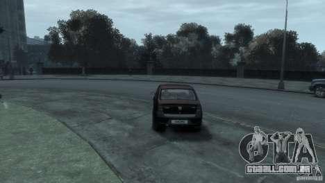 RENAULT LOGAN para GTA 4 vista direita
