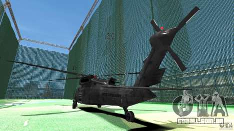 Sikorsky UH-60 Black Hawk para GTA 4 vista direita