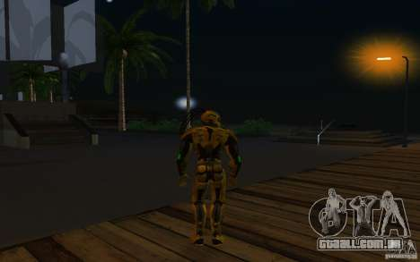 Cyrax 2 de Mortal kombat 9 para GTA San Andreas terceira tela