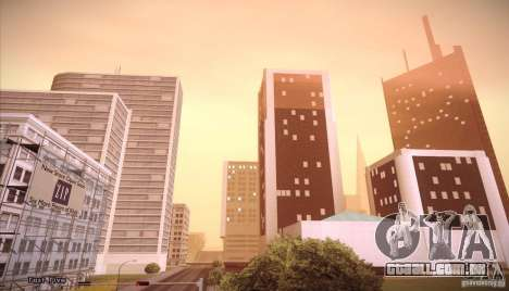 Enb Series v5.0 Final para GTA San Andreas por diante tela