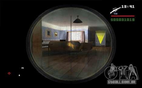 Espingarda Mosin para GTA San Andreas terceira tela