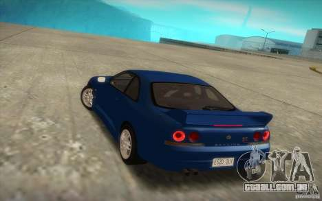 Nissan Skyline R33 GT-R V-Spec para GTA San Andreas esquerda vista