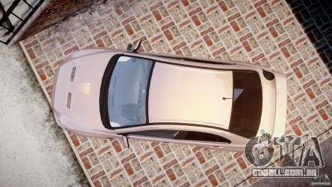 Mitsubishi Lancer Evolution X para GTA 4 vista direita