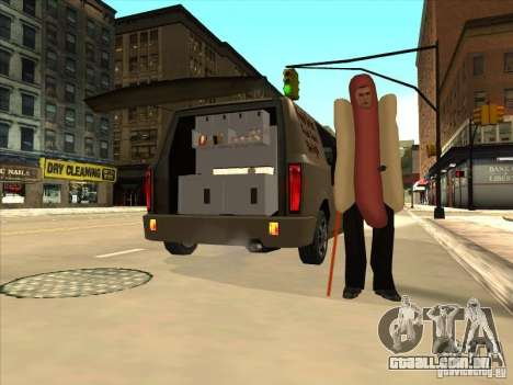 Hot Dog Moonbeam para GTA San Andreas