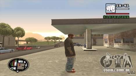 Sam B from Dead Island para GTA San Andreas terceira tela