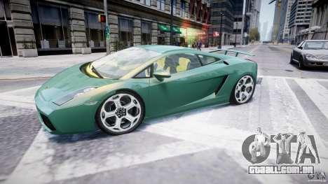 Lamborghini Gallardo para GTA 4 esquerda vista