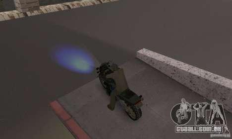 Faróis azuis para GTA San Andreas segunda tela