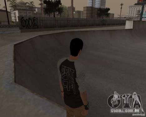 Tony Hawks Cole para GTA San Andreas quinto tela