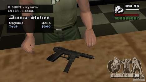 Montagem de HD para GTA San Andreas sexta tela