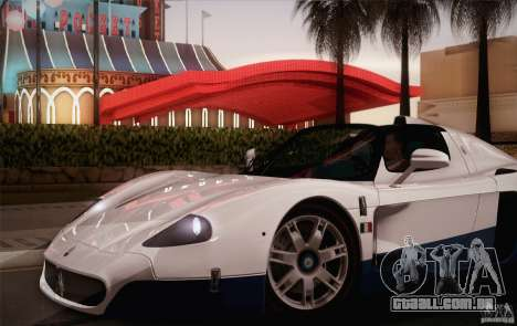 Maserati MC12 V1.0 para as rodas de GTA San Andreas