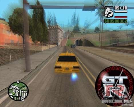 Velocímetro GT-R para GTA San Andreas segunda tela