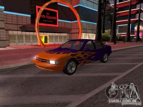 Chevrolet Impala SS 1995 para GTA San Andreas interior