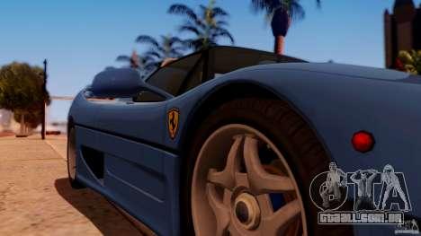 Ferrari F50 Coupe v1.0.2 para GTA San Andreas vista direita