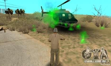 SpecDefekty para GTA San Andreas quinto tela
