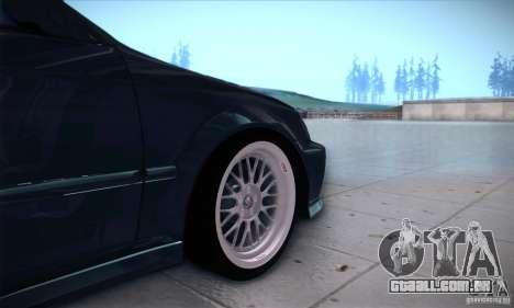 Honda Civic 6Gen para GTA San Andreas vista traseira