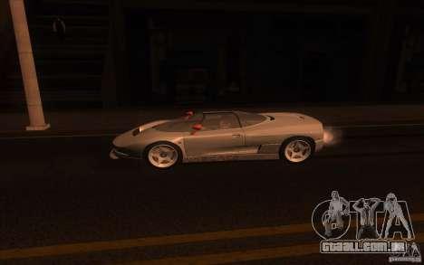 BMW Italdesign Nazca C2 1993 para GTA San Andreas esquerda vista