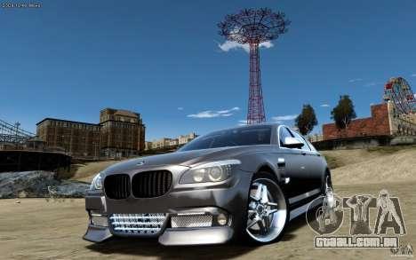 Telas de menu e arranque BMW HAMANN no GTA 4 para GTA San Andreas por diante tela