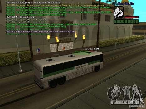 SA:MP 0.3d para GTA San Andreas oitavo tela